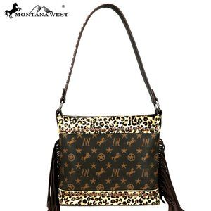 Montana West Signature Monogram Collection Hobo